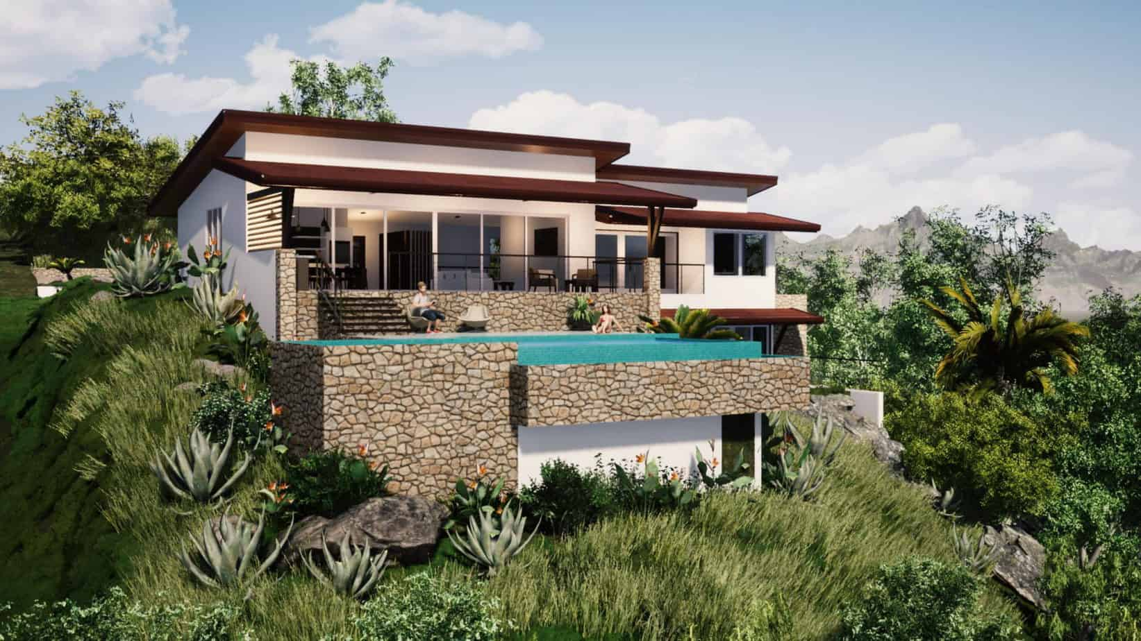 Beautiful Property with Ocean Views and Guest House