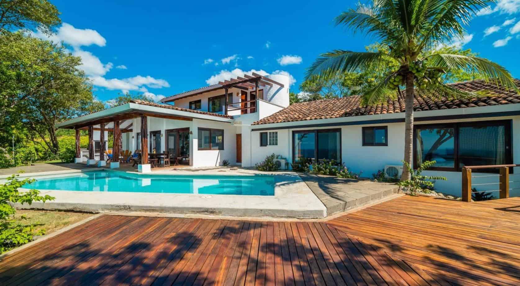 Charming 4 Bedroom Ocean View Villa in Tamarindo