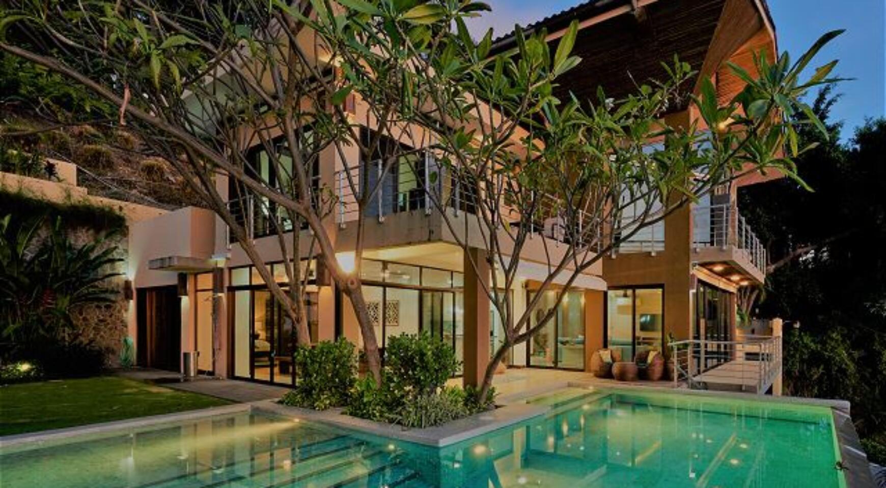 Spectacular 5 bedroom villa with ocean view in Tamarindo